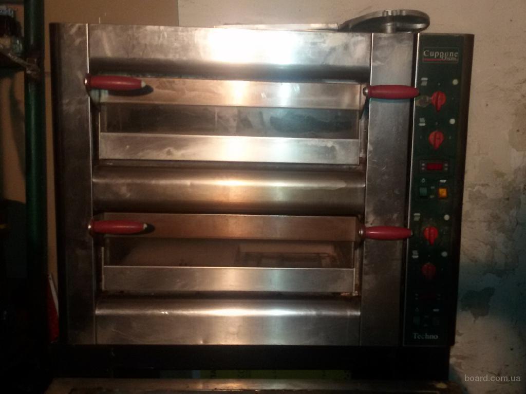 Продам бу печь для пиццы Cuppone TH430/2D
