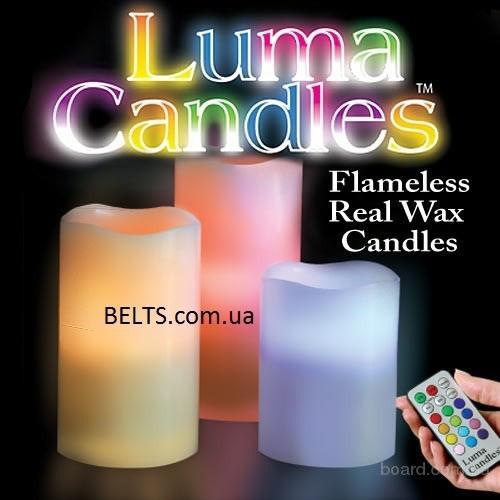 Продам.Электронная свеча с пультом Luma Candles Люма Кендлес (electronic candle)