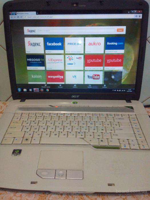 Продам Acer aspire 5720z