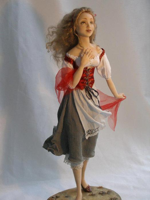Изготовление авторских кукол для театров