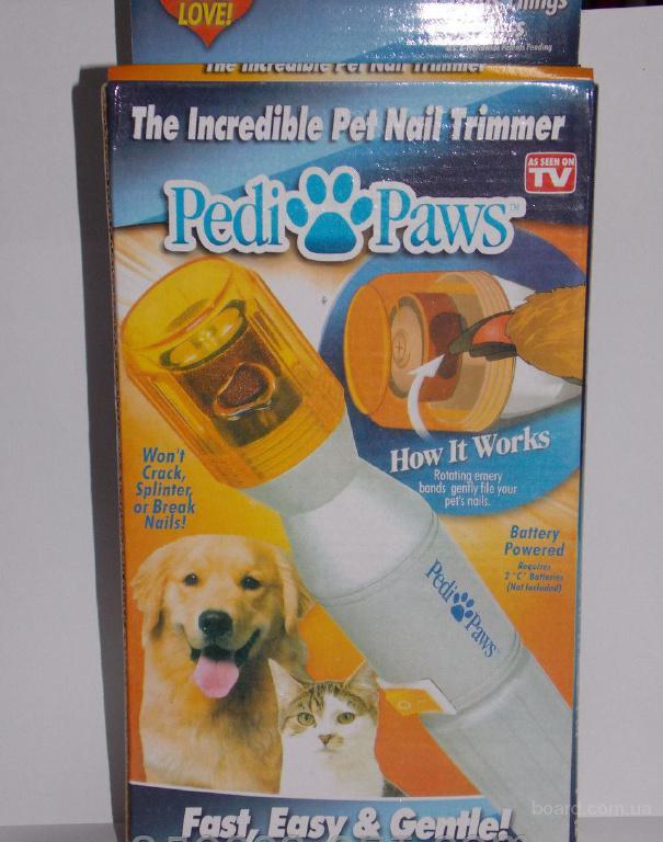 Тример для кігтів собак і котів Pedi Paw