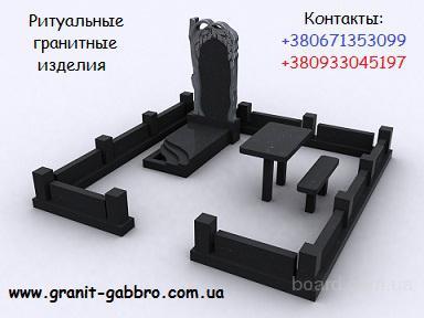 Гранитные памятники из города Коростышев. Доставка в Киев, другие регионы. Установка