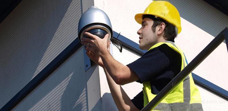 Фирама охранные системы устанавливает видеонаблюдение.