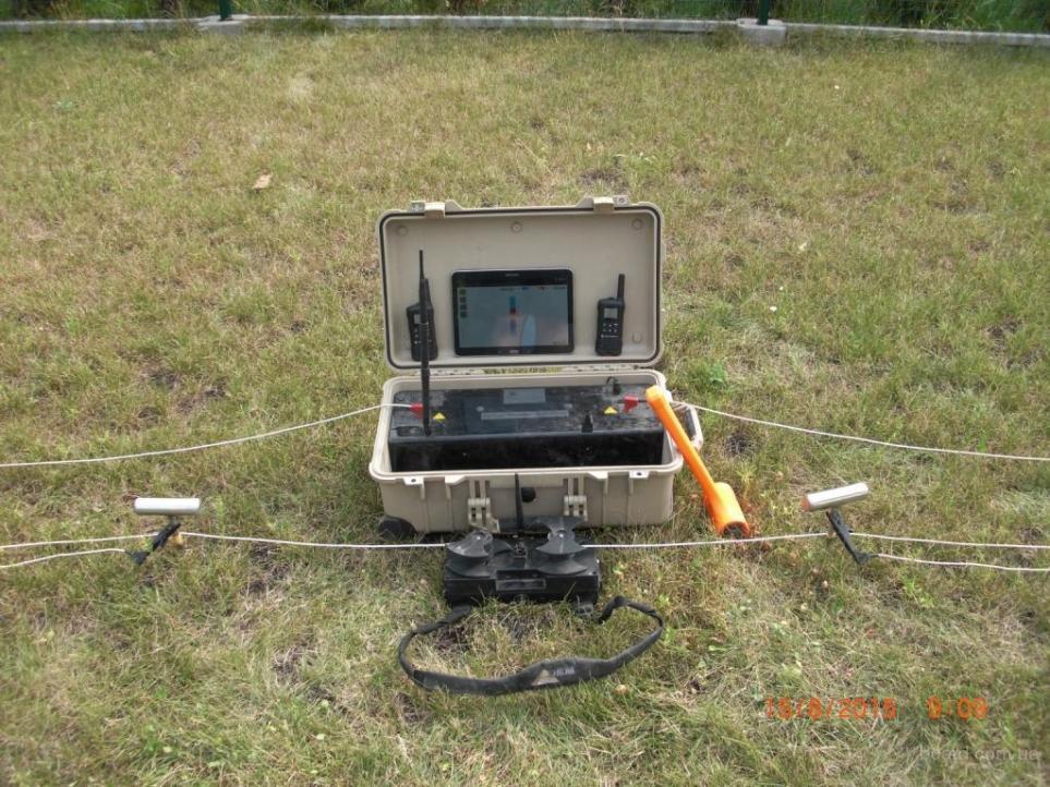 Пошук води для колодязя, прилад для зондування