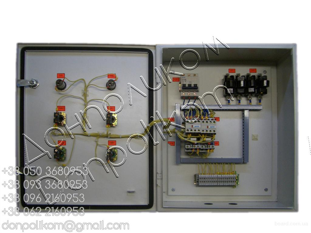 Я5124, Я5125, Я5126, Я5127 нереверсивный двухфидерный ящик управления электродвигателями