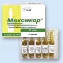 Продам лекарственный препарат Мексикор 50 мг/мл (этилметилгидроксипиридина сукцинат) 2 мл №10, 230 грн. (продам)  (продам)