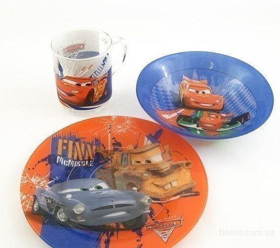 Luminarc Disney Cars2 Набор детский 3 пр.