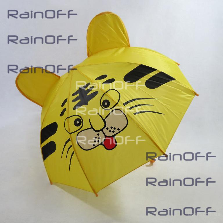 Детские зонты в виде животных