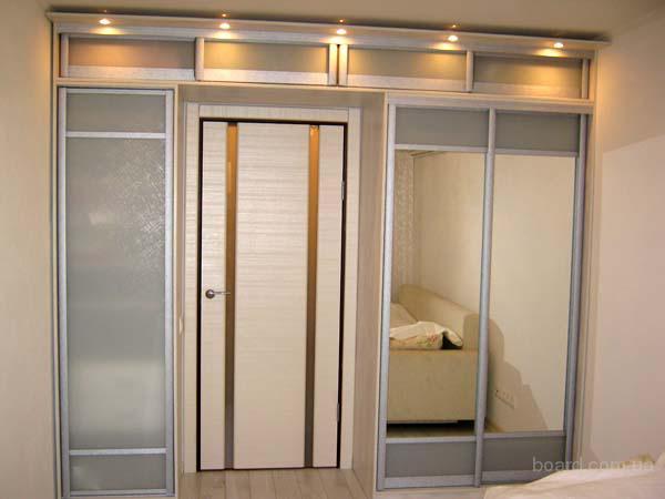 Встроенные шкафы-купе Двери для шкафов-купе Угловые шкафы-купе