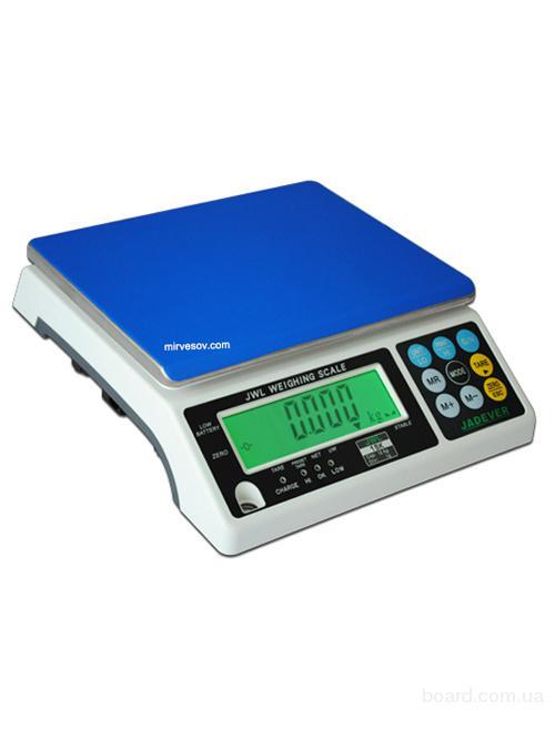 Весы фасовочные электронные JWL