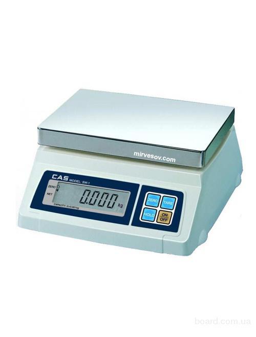Весы фасовочные электронные настольные CAS SW-C