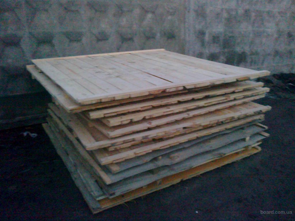 Щит строительный деревянный для забора 2х2 метра склад пиломатериалов