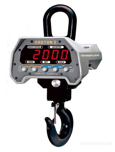 Весы крановые электронные Caston-II (1000 кг)