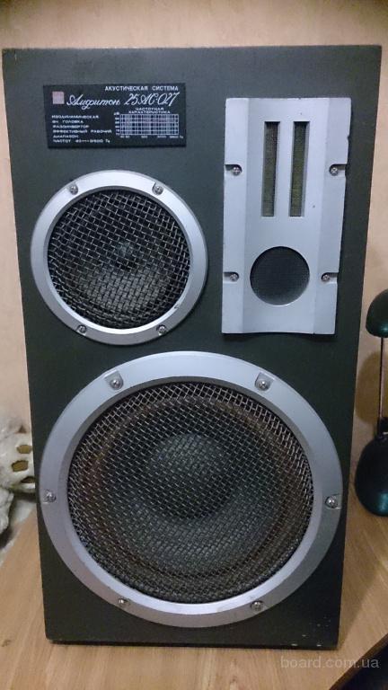 Продам акустические колонки Амфитон25 АС 027