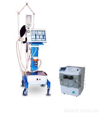 """Аппарат ИВЛ """"Бриз""""+кислородный концентратор+пульсоксиметр"""