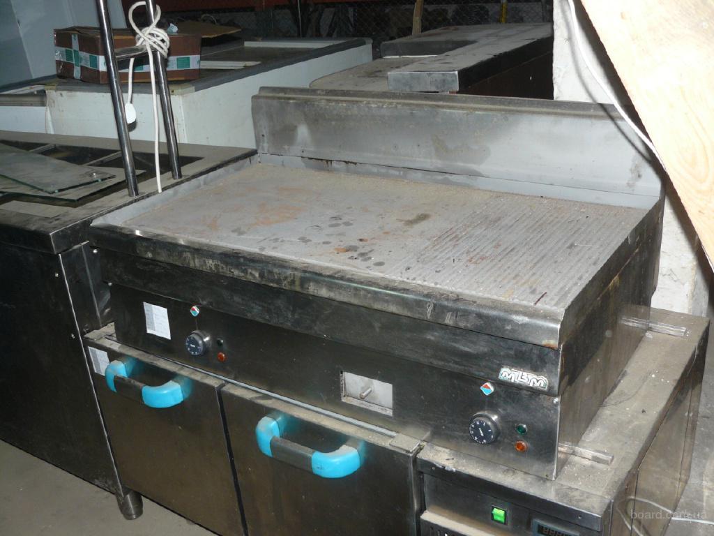 Продам бу гриль электрический на холодильной подставке Италия
