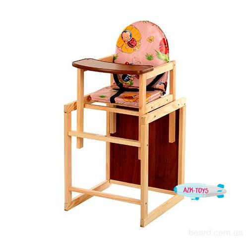 Стульчик Vivast для кормления деревянный M V-001-1