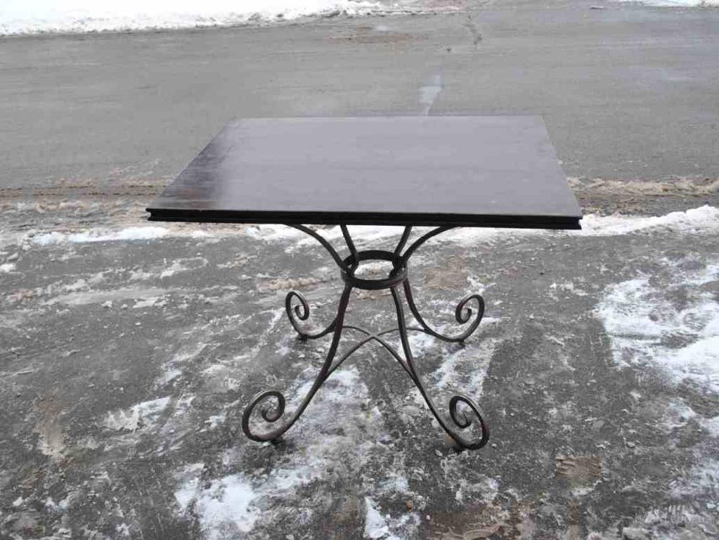 Бу мебель, столы кованые для баров