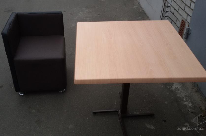 Продам бу столы на железной ноге для кафе, общепита