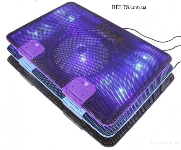 """Продам.Мощная охлаждающая подставка под ноутбук с 5 кулерами Cooling Pad m8 (notebook idea cooling m8 14 """""""" - 17 """""""")"""