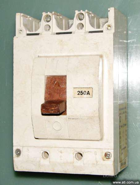 Автоматический выключатель ВА-5135 (250А).
