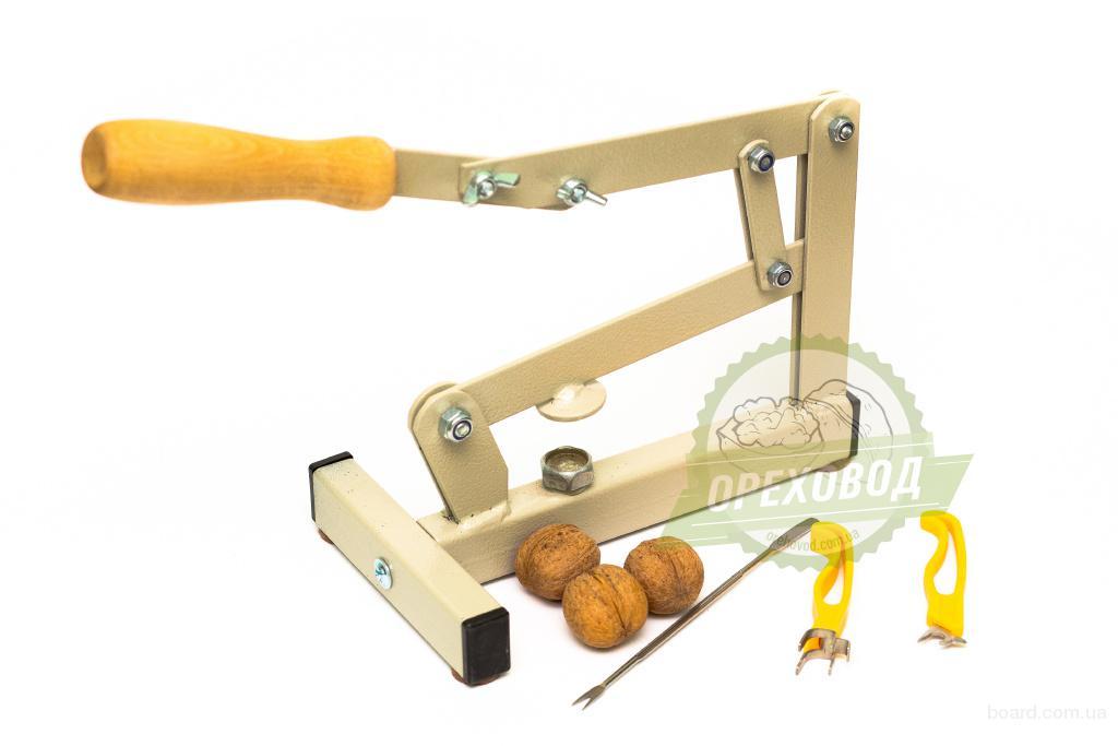 """Механический орехокол """"Универсальный""""+набор для разбора ореха+инструмент для извлечения ядра."""