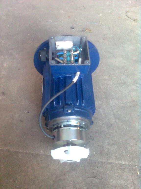 Электродвигатель с тормозом АИР63В4Е 0.37 квт 1500 об.мин