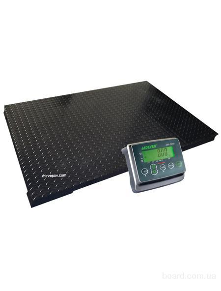 Весы напольные платформенные электронные Jadever JBS-3000 (10х10)
