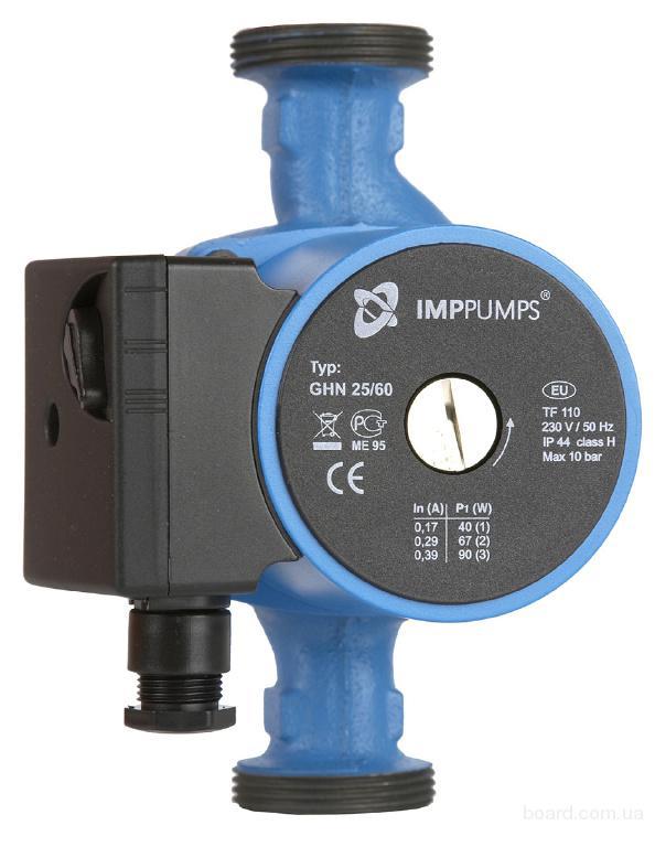 GHN 32-120 циркуляционный насос для отопления 32/120 IMP Pumps. Словения.
