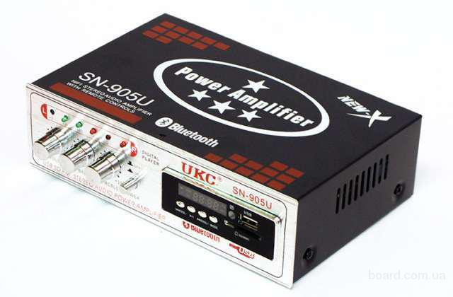 Усилитель звука UKC SN-905U +Bluetooth