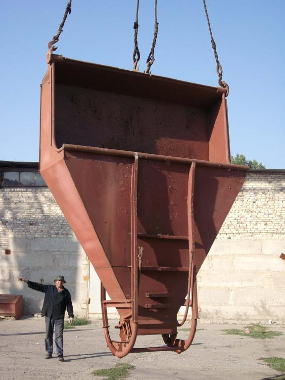 Бадья-бункер бетоноприемные