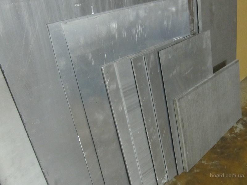 Лист алюминиевый размер 4 х500х895мм материал АМг5. остаток