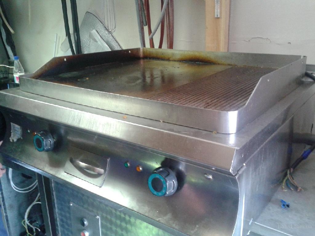 Продам бу жарочную поверхность гриль для ресторанов, общепитов