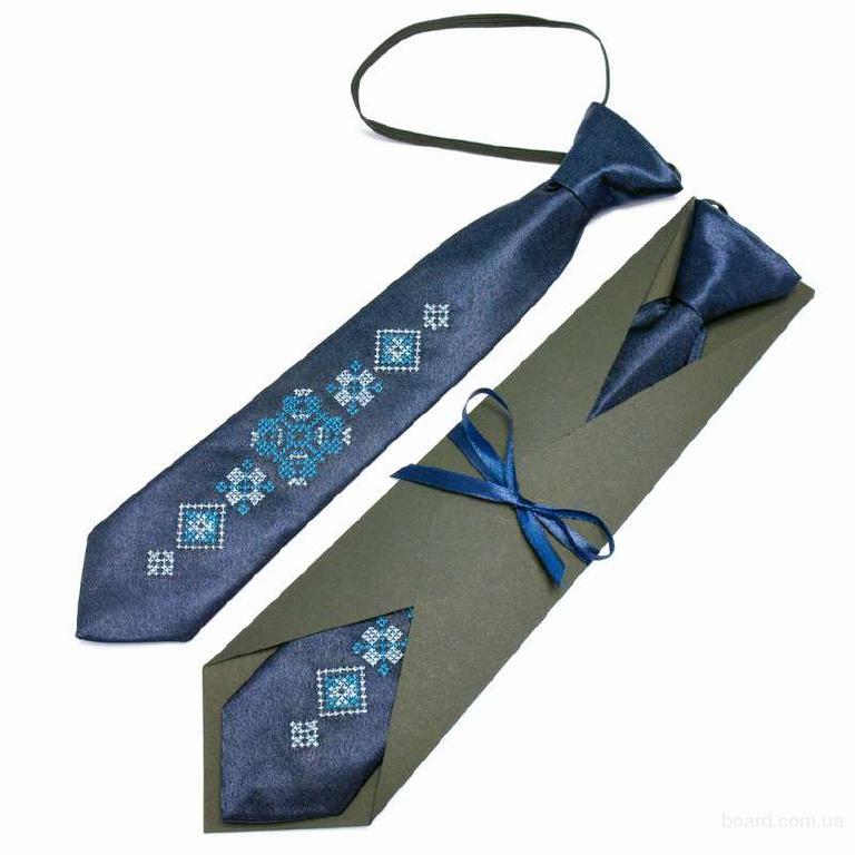 """Дитяча вишита краватка """"Ідан"""""""