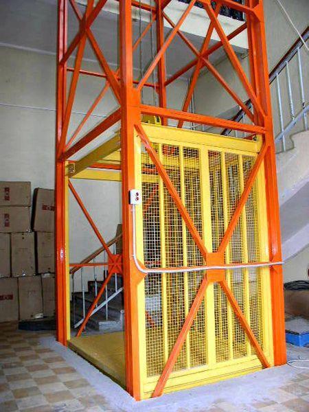 Производство грузовых лифтов и подъемников