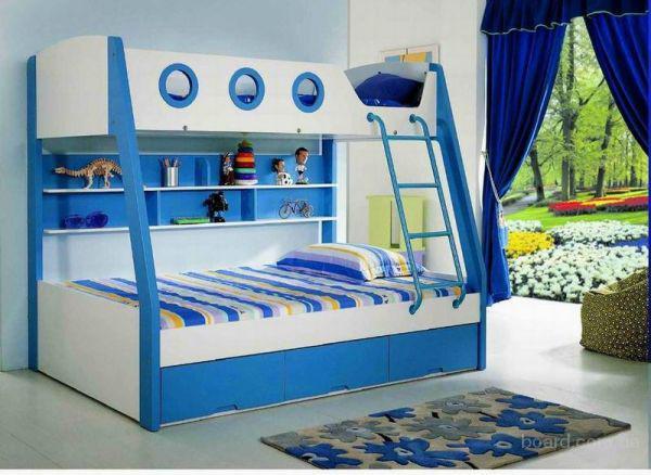 кровать двухъярусная Яхта