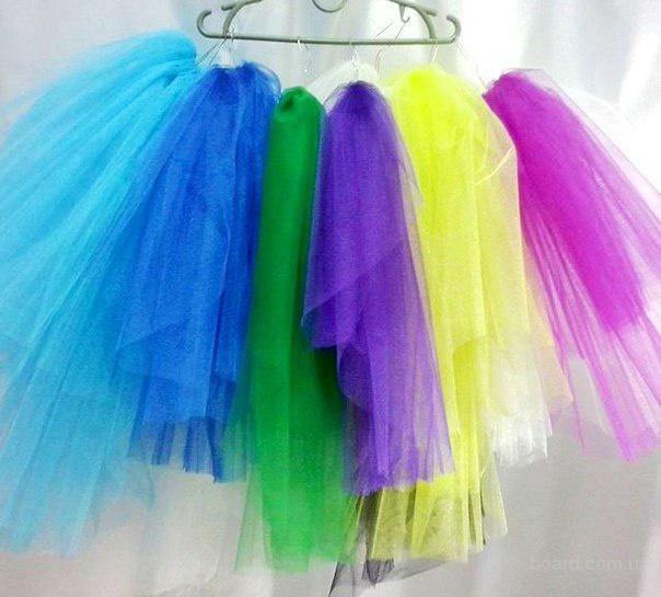 Цветная фата для девичника и вечеринок.