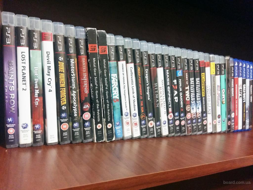 продам б/у игры PS3