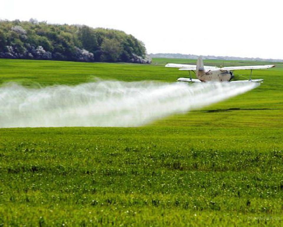 Внесение инсектицидов самолётами малой и легкой авиации