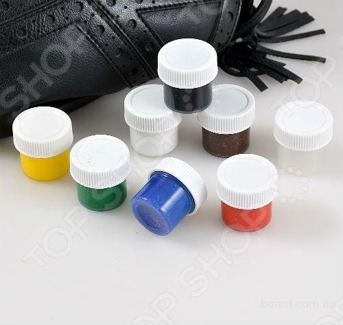 Цина.Набор для ремонта кожных изделья «Жидкая кожа», краска для кожи Liquid Leather (Ликвид Лизер)