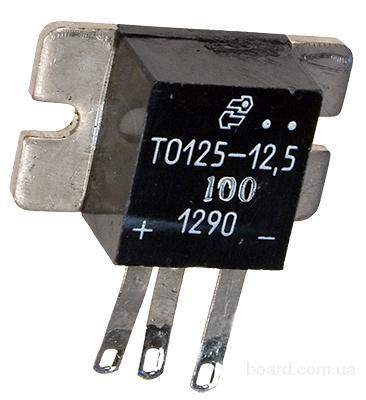 Тиристоры ТО125-10-10