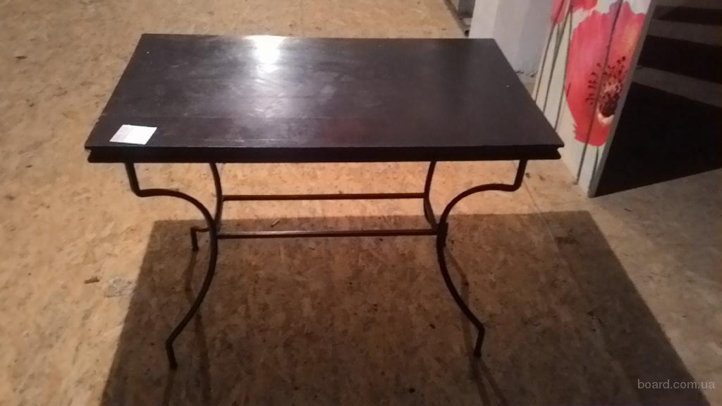 Продам бу стол деревянный, ковка, со склада в Киеве для кафе, пабов