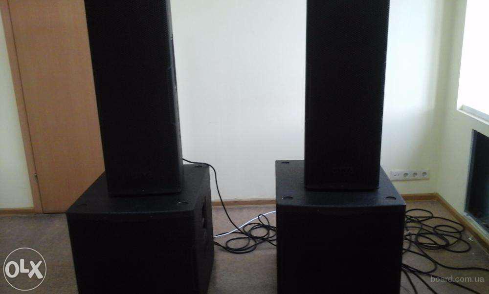 продам комплект профессионального звукового оборудования мощность до 8 кВт