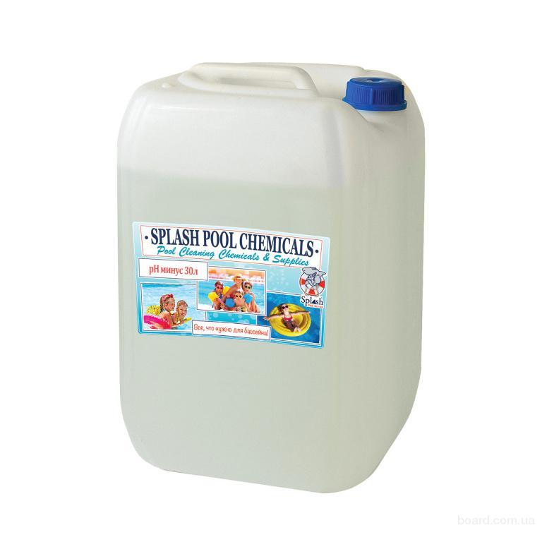 РН минус жидкий - средство для уменьшения уровня рН в воде бассейна