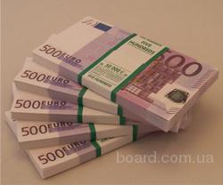 Сувенирные 500 Евро Пачка Денег 500Е