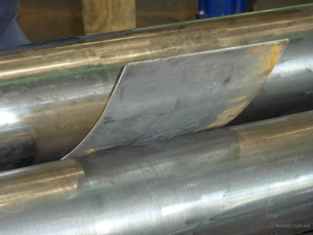Вальцовка листового металла, вальцевание