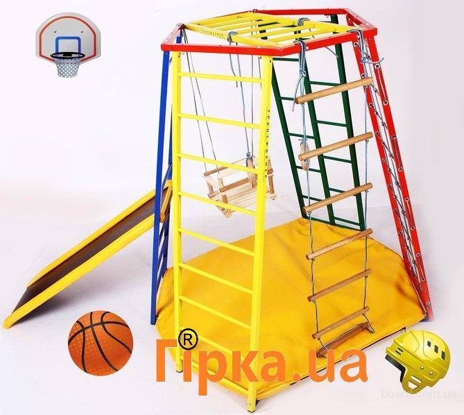 Спортивный уголок для малышей. Шведская стенка для крошек. Металл