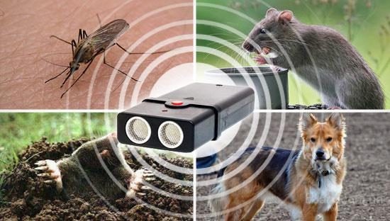 Ультразвуковой отпугиватель грызунов (мышей и крыс) Торнадо 200-12В