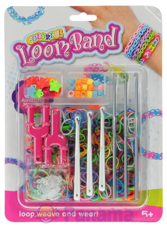 Резинки для браслетов- loom band