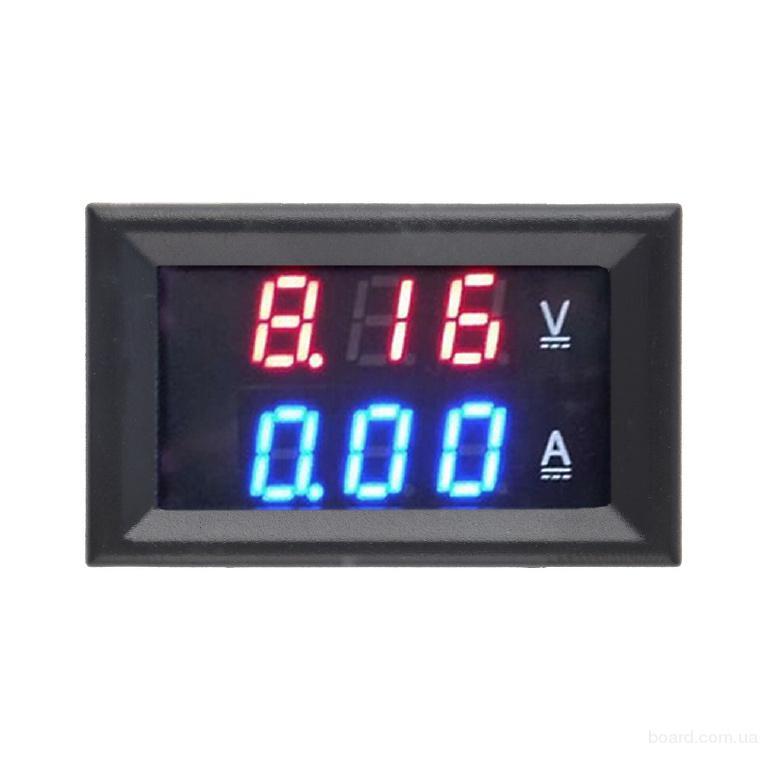 Вольтметр Амперметр DC 0-100V 0-10 A